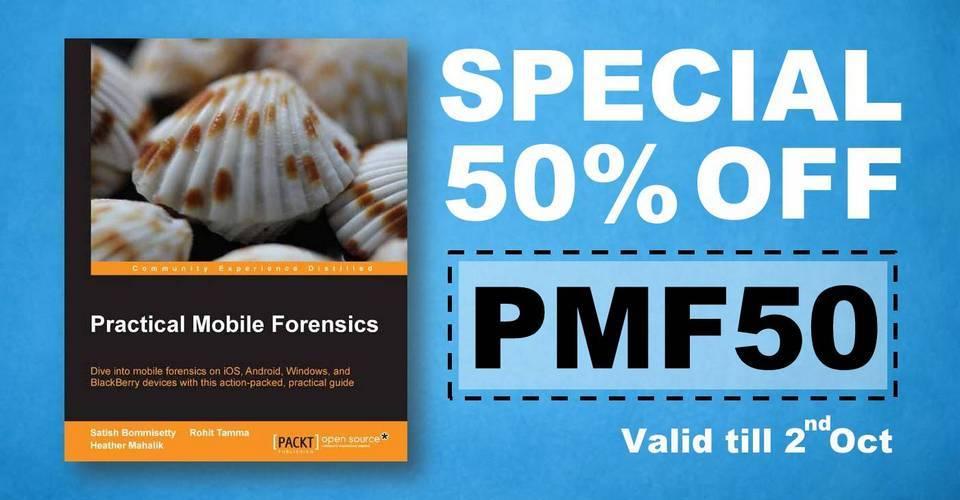PMF50 smarter forensics